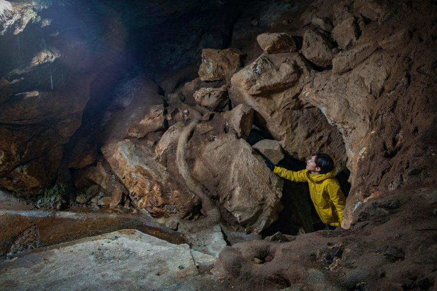 Japanese cave and hiking at Akiyoshidai National Park