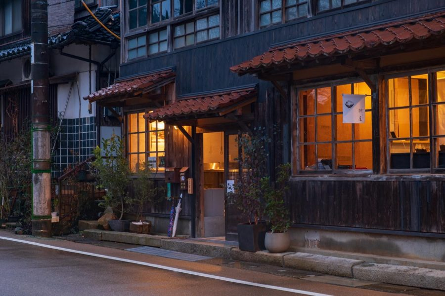 Traditional Japanese house turned cafe in Japan