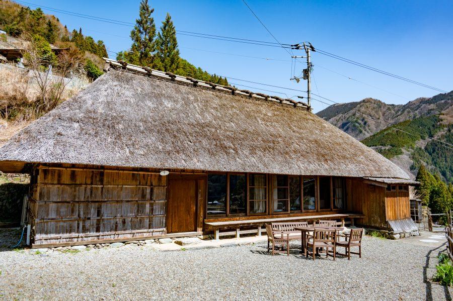 restored kominka traditional Japanese house for rent in Ochiai Village