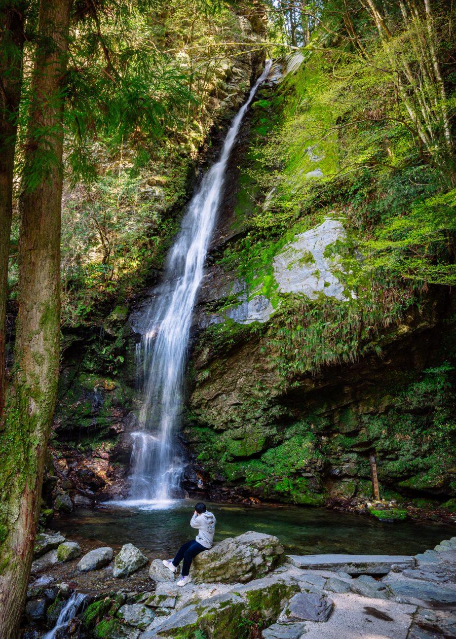 Biwa Falls in the Iya Valley of Tokushima Prefecture
