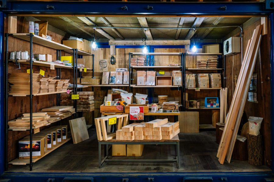 Hazai Market sells many DIY wood projects made from sustainable lumber