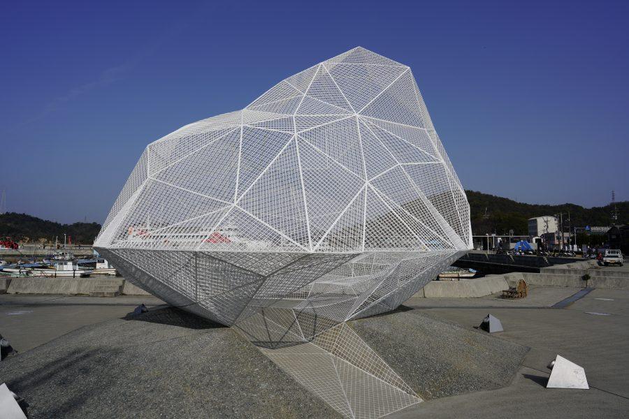 Japanese modern art on Naoshima Island, Japan