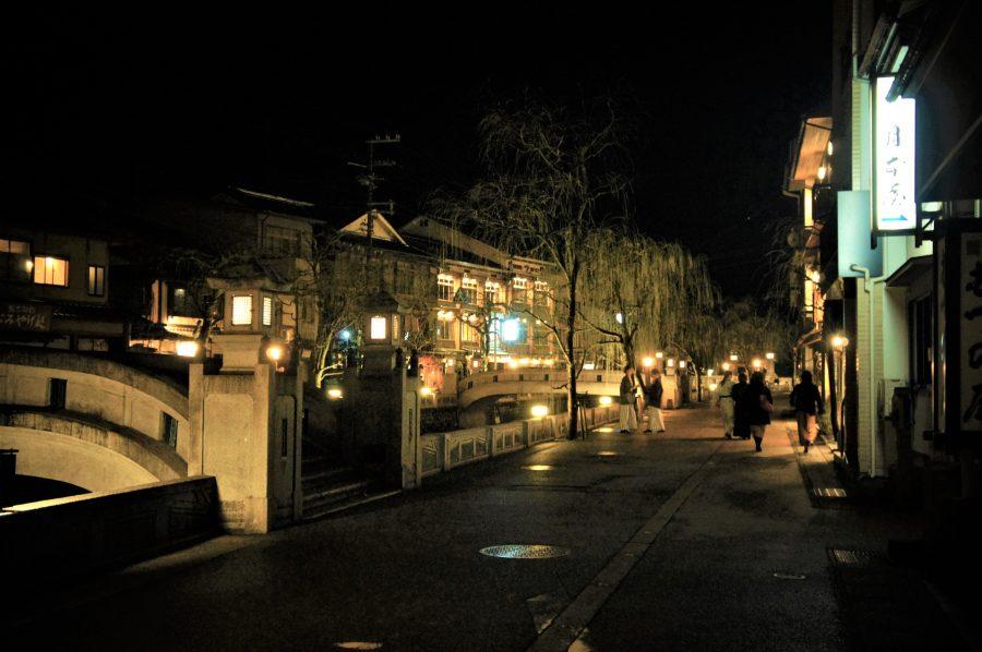 Une rue à Kinosaki Onsen