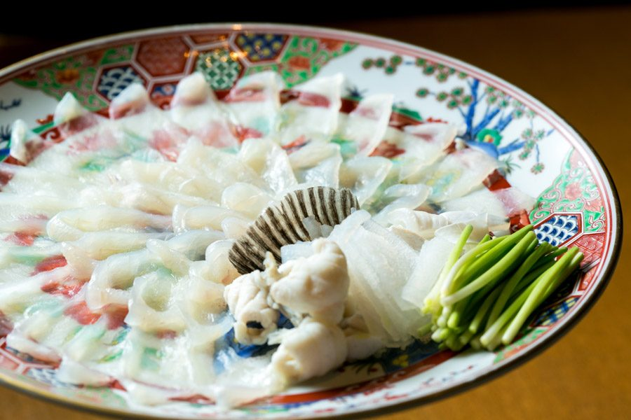 pufferfish japanese cuisine