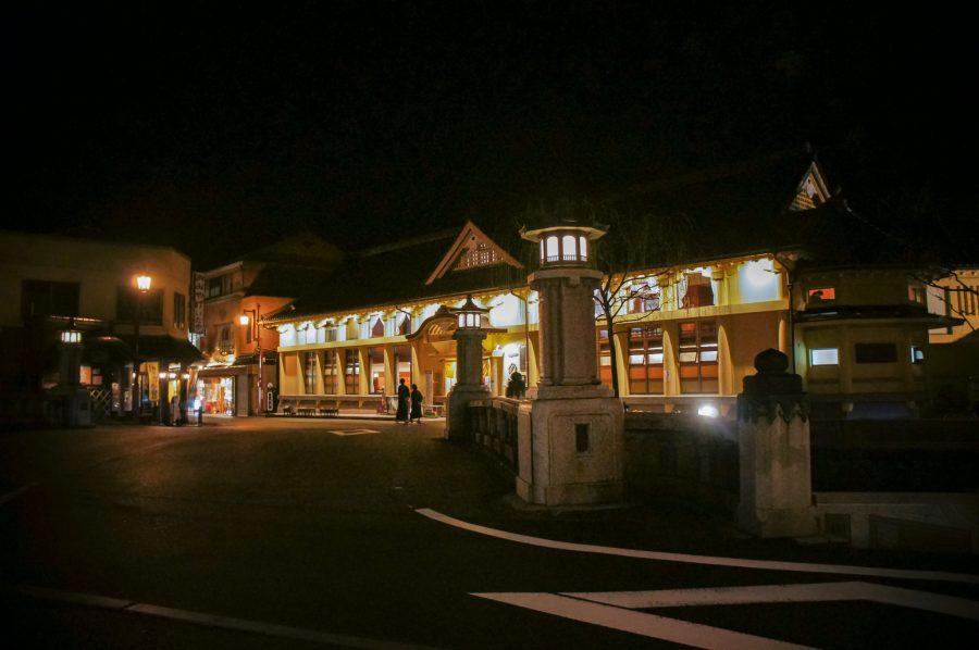 Kinosaki Onsen la nuit