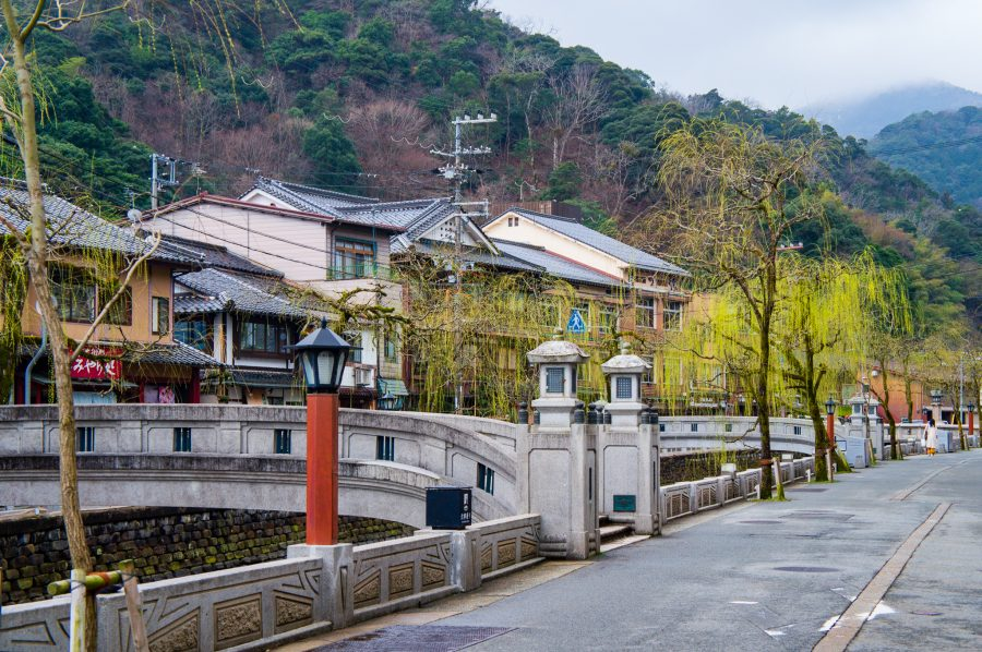 Ponts de basalte à Kinosaki Onsen