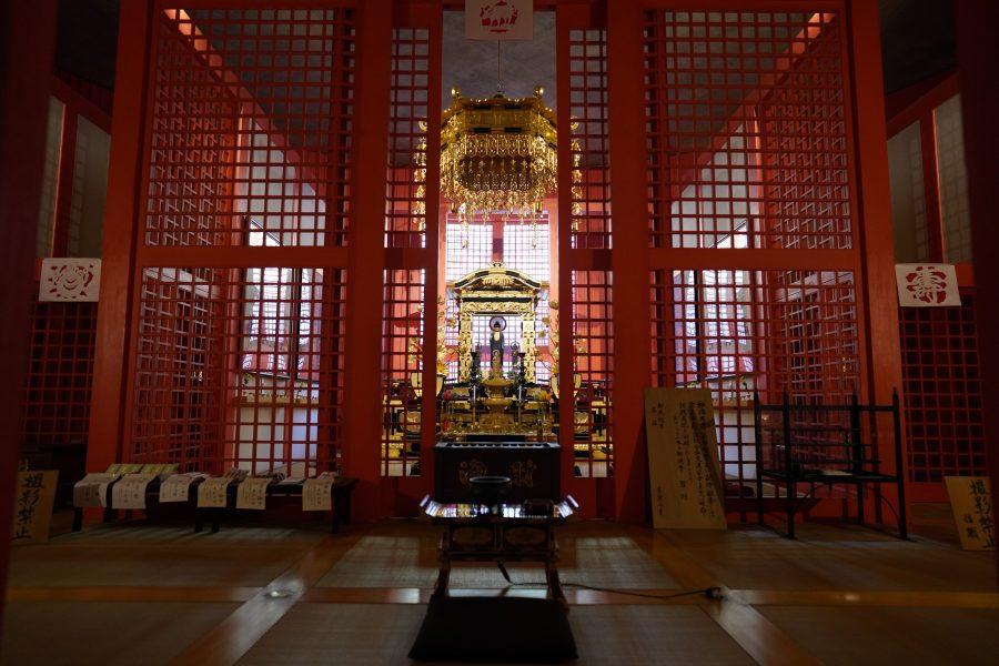 traditional Japanese lattice work in Japan